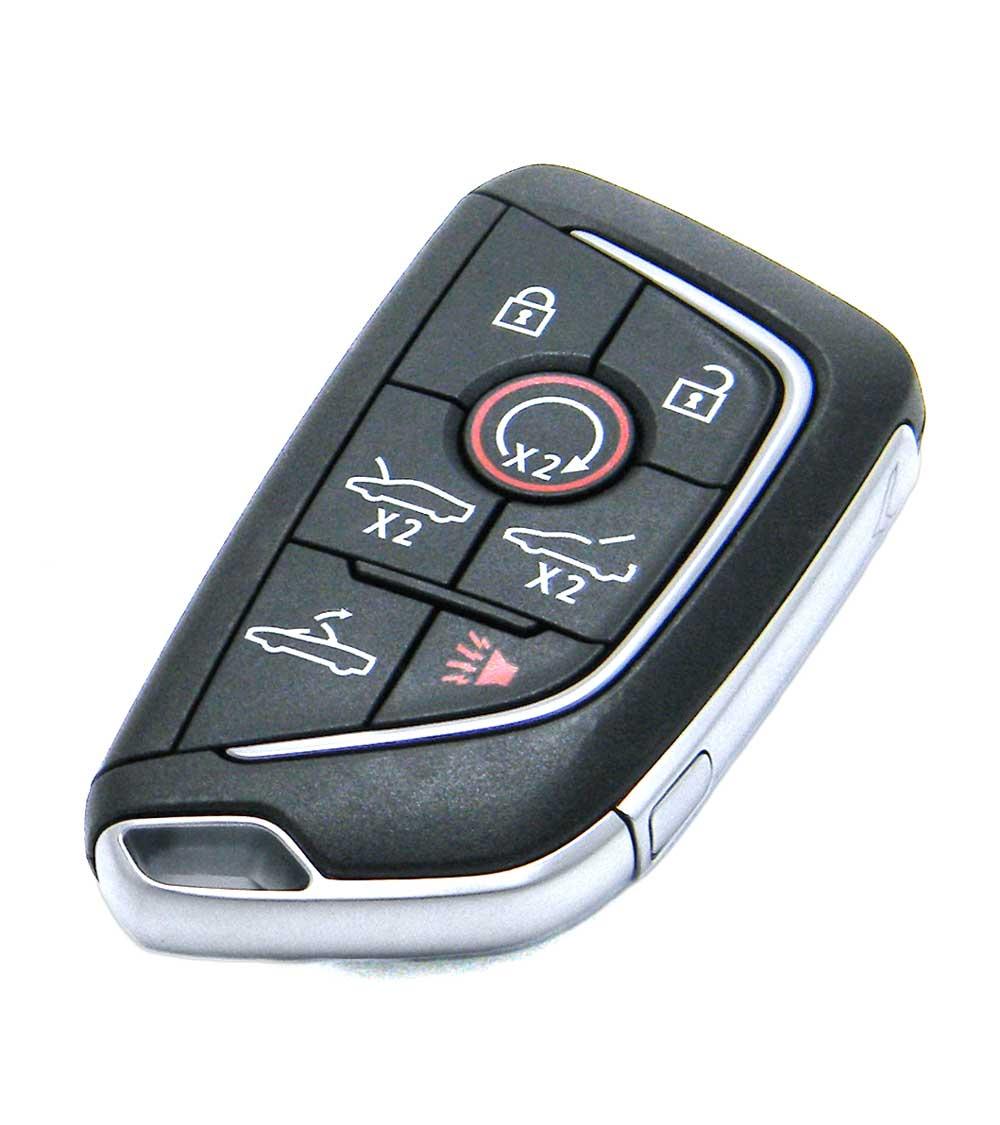2020-2021 Chevrolet Corvette Convertible 7-Button Smart Key Fob Remote  (YG0G20TB1, YGOG2OTB1, 13538852)